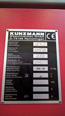 Kunzmann fräsmaschine